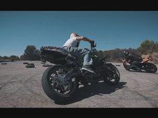 MOTORBIKE DRIFTING - GYMKHANA TANDEM