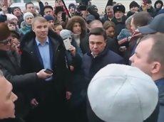 Девочка угрожает губернатору Воробьеву